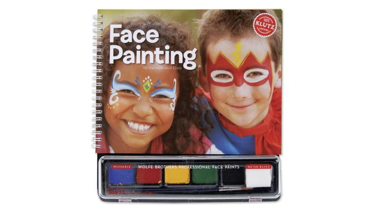 Klutx Face Paints & Book Set (43061)