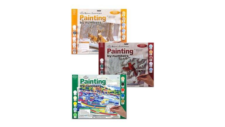 Adult Painting by Numbers