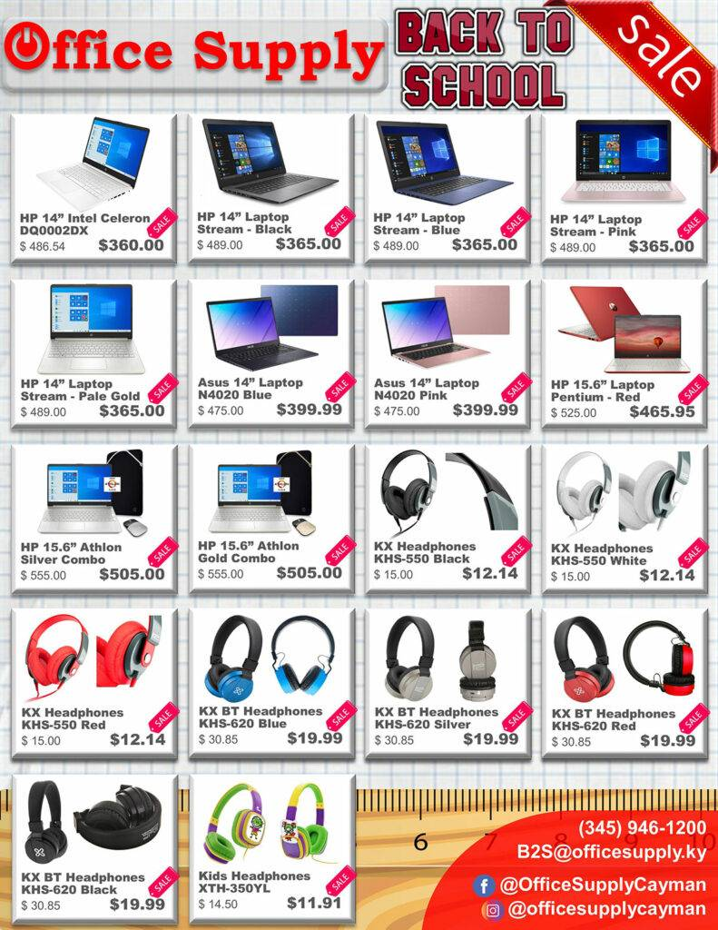 Office Supply Back To School Sale